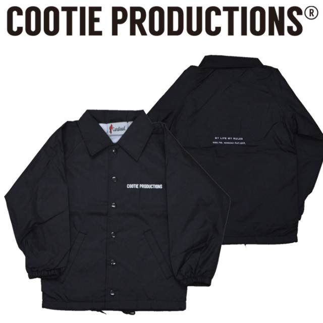 COOTIE(クーティー)  KIDS Nylon Coach Jacket 【CTE-201-KIDS】
