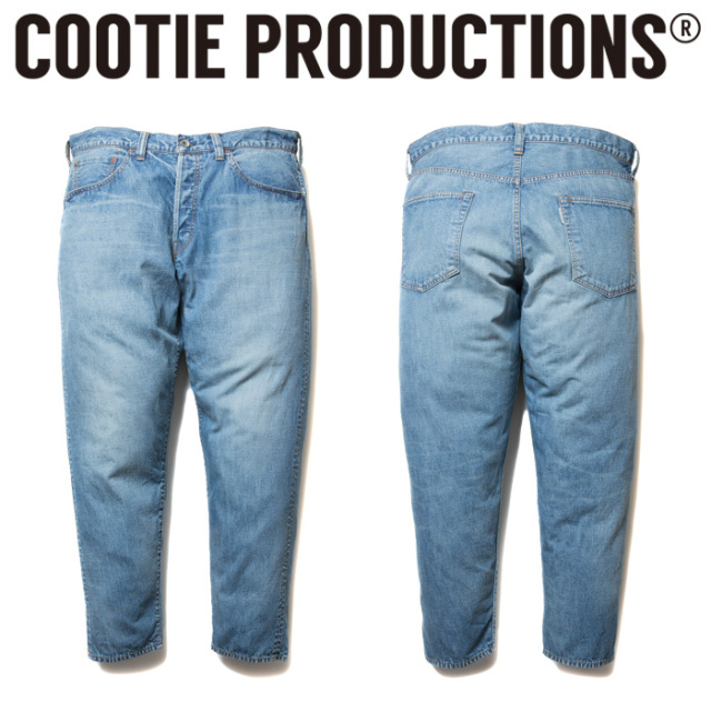 COOTIE(クーティー)   5 Pocket Light Oz Denim (10oz) 【CTE-19S102】【パンツ】【デニム】