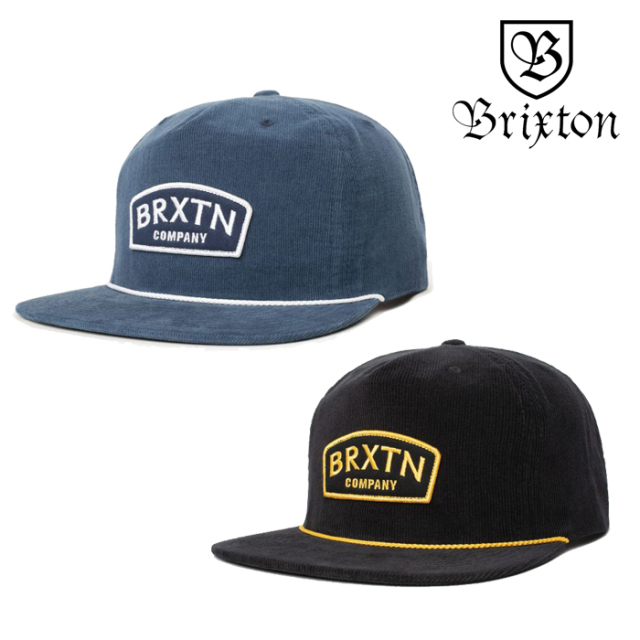 BRIXTON(ブリクストン) DULLA II HP SNAPBACK CAP 【スナップバックキャップ 帽子 5パネル】【2020SUMMER新作】