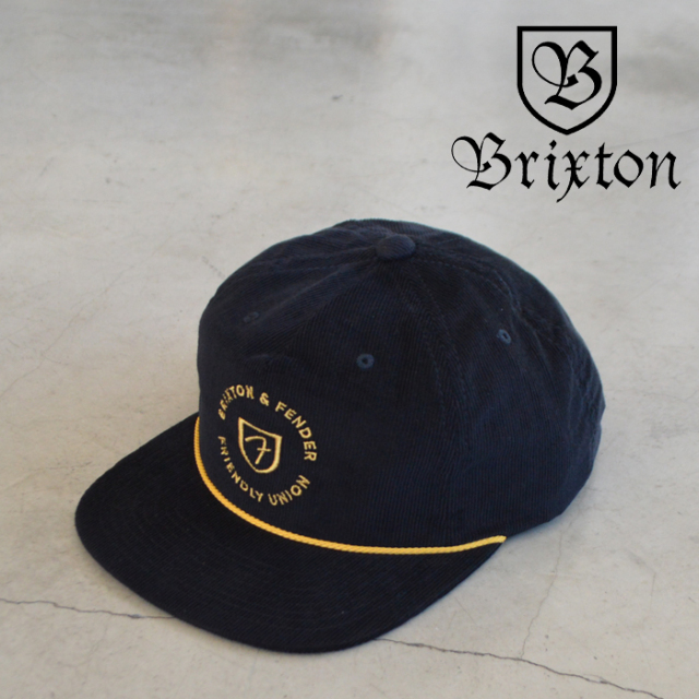 BRIXTON(ブリクストン) FENDER ELECTRIC MP SNAPBACK CAP 【スナップバック キャップ 帽子】【2021 SPRING新作】