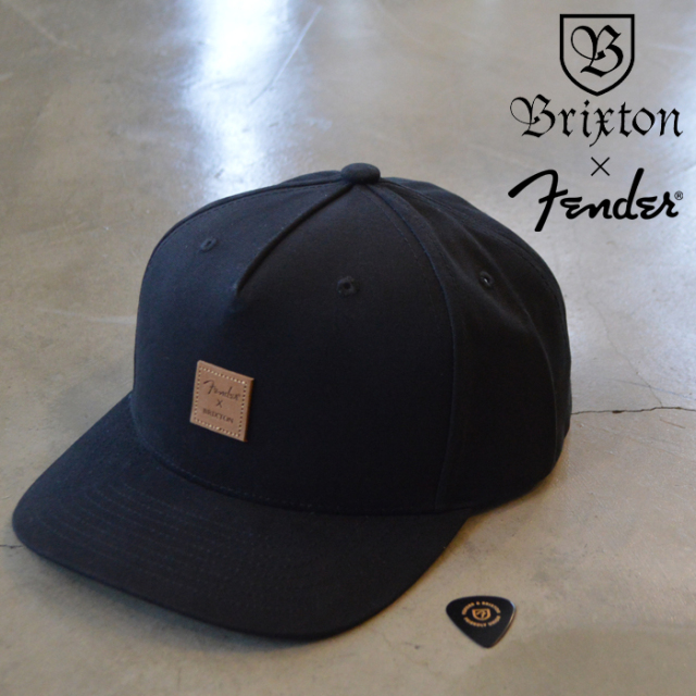 BRIXTON(ブリクストン) FENDER REVERB C SNAPBACK 【キャップ 帽子】【2020HOLIDAY新作】