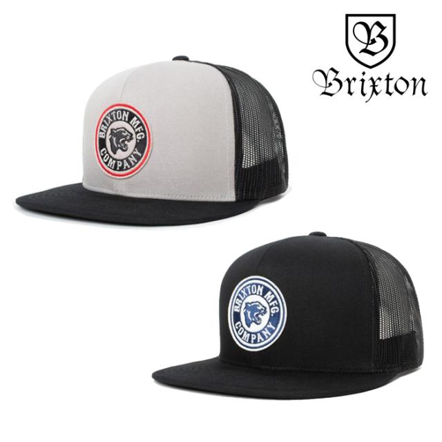 BRIXTON(ブリクストン) FORTE MP MESH CAP 【メッシュキャップ 帽子 6パネル】【2020SUMMER新作】