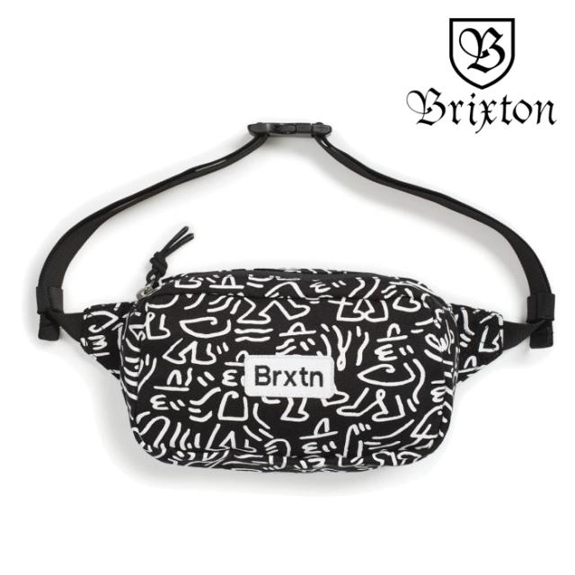 BRIXTON(ブリクストン) GATE HIP PACK 【ヒップパック ボディバッグ】【2020SPRING新作】【ルーカス・ビューフォートコラボ】