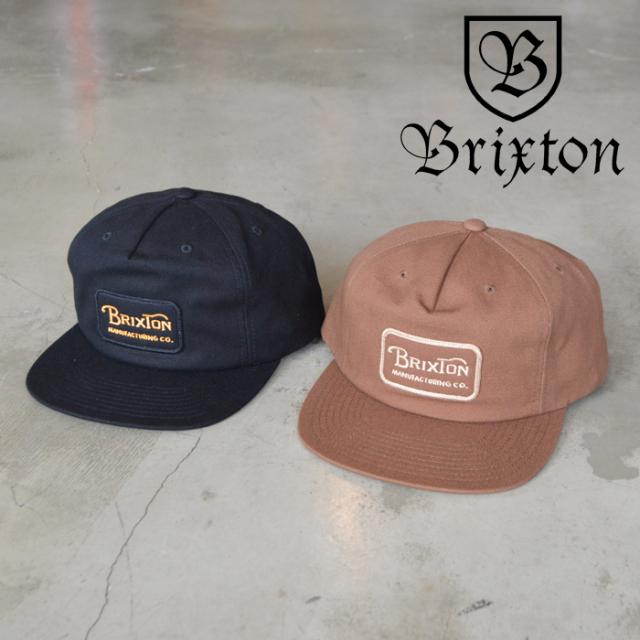 BRIXTON(ブリクストン) GRADE HP SNAPBACK 【キャップ 帽子】【2020FALL新作】
