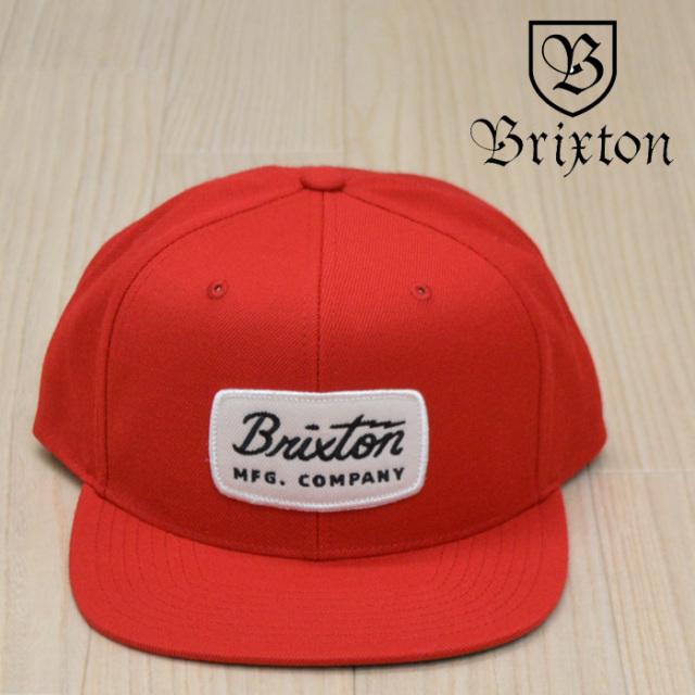 BRIXTON(ブリクストン) JOLT SNAPBACK CAP (RED) 【2018AUTUMN/WINTER新作】【キャップ】