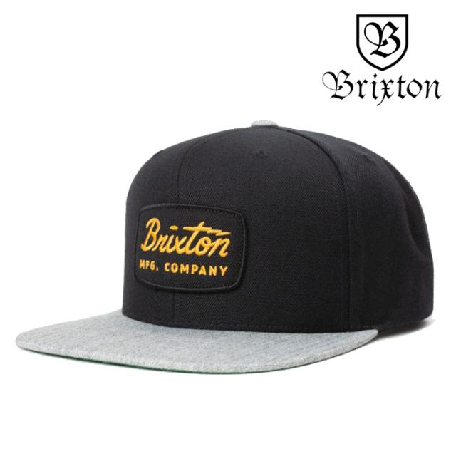 BRIXTON(ブリクストン) JOLT SNAPBACK CAP 【スナップバックキャップ 帽子 6パネル】【ブラック 】【2020SUMMER新作】
