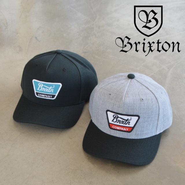 BRIXTON(ブリクストン) LINWOOD C MP SNAPBACK CAP 【スナップバック キャップ 帽子】【ブリクストン キャップ 定番 人気 シンプル