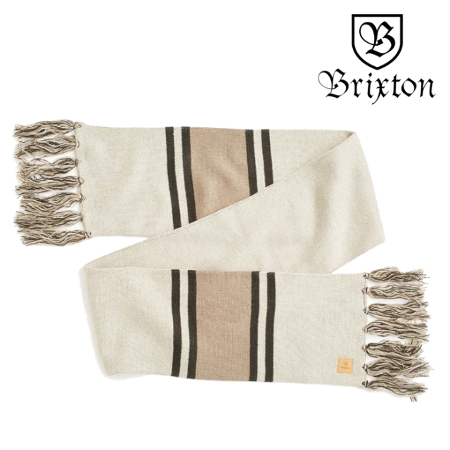 BRIXTON(ブリクストン) MAIN LABEL SCARF 【2019HOLIDAY新作】【マフラー スカーフ】
