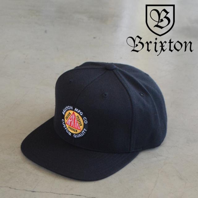 BRIXTON(ブリクストン) MASON MP SNAPBACK CAP 【スナップバック キャップ 帽子】【ブリクストン キャップ 定番 人気 シンプル】