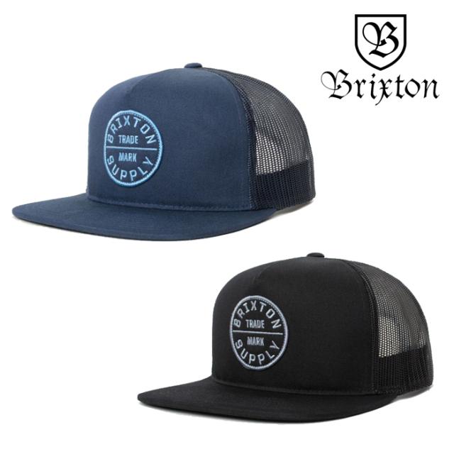 BRIXTON(ブリクストン) OATH III MESH CAP 【メッシュキャップ 帽子 6パネル】【2020SUMMER新作】
