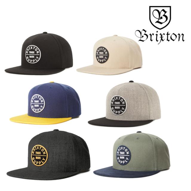BRIXTON(ブリクストン) OATH III SNAPBACK CAP 【スナップバックキャップ 帽子】【2020SPRING新作】【定番 人気 シンプル】