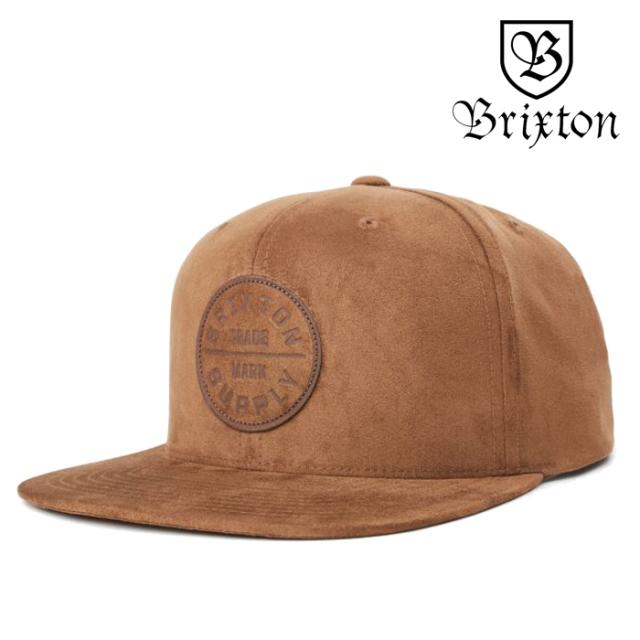 BRIXTON(ブリクストン) OATH III SNAPBACK CAP(HIDE) 【スナップバックキャップ 帽子】【2020SPRING新作】【定番 人気 シンプル】