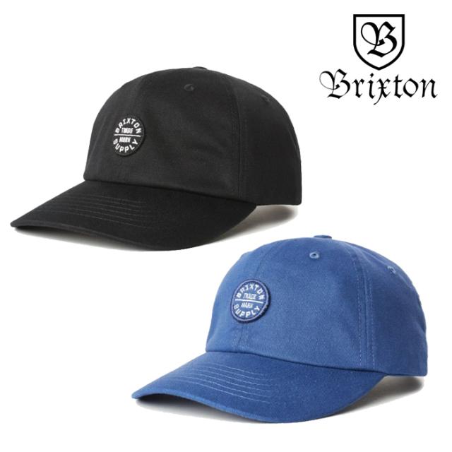 BRIXTON(ブリクストン) OATH LP CAP 【キャップ 帽子】【2020SPRING新作】【ブラック ブルー】