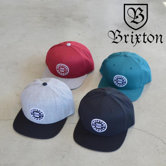 BRIXTON(ブリクストン) OATH III SNAPBACK CAP 【スナップバックキャップ 帽子】【2021SPRING新作】【定番 人気 シンプル】