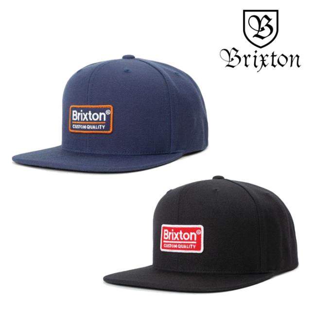 BRIXTON(ブリクストン) PALMER II MP SNAPBACK CAP 【スナップバックキャップ 帽子 6パネル】【ブラック 】【2020SUMMER新作】