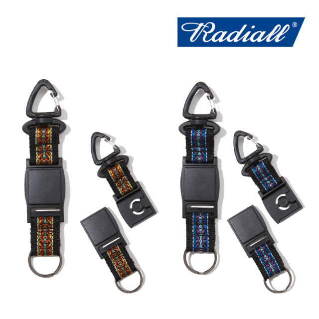 【SALE30%OFF】 RADIALL(ラディアル) RED WOOD-QUICK RELEASE KEY HOLDER 【セール】【2019 SPRING&SUMMER COLLECTION】 【RAD-1