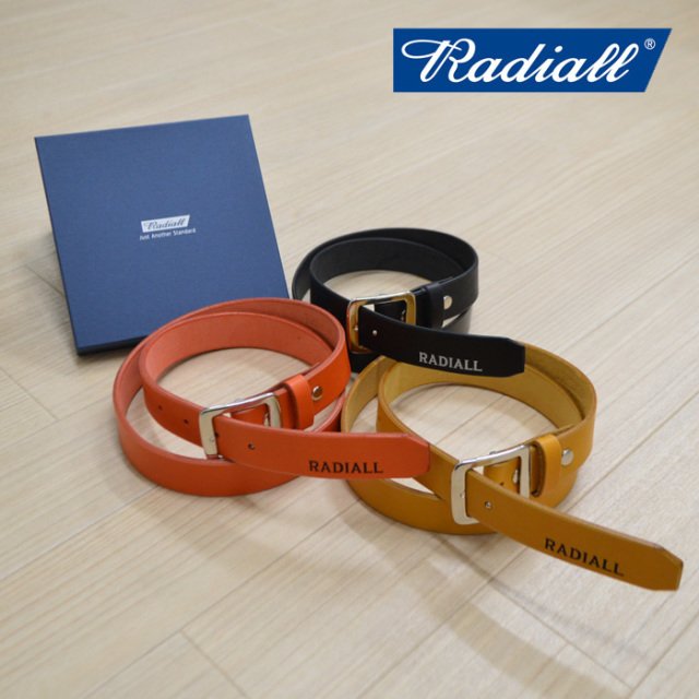 RADIALL(ラディアル) PLAIN-NARROW BELT 【2019 SPRING&SUMMER COLLECTION】 【rad-19ss-acc005】【ベルト】