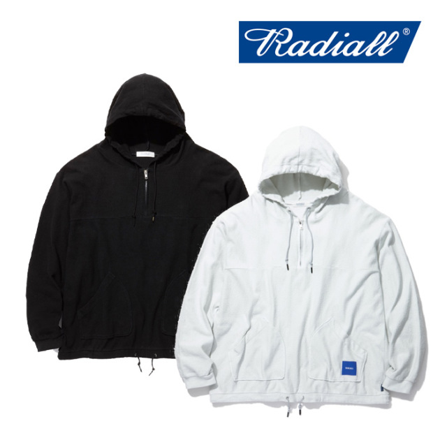 RADIALL(ラディアル) LAID BACK- HOODIE SWEATSHIRT L/S 【2019 SPRING&SUMMER COLLECTION】 【RAD-19SS-CUT006】【パーカー】