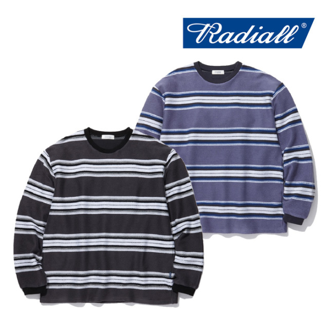 RADIALL(ラディアル) CISCO-CREW NECK T-SHIRT L/S 【2019 SPRING&SUMMER COLLECTION】 【RAD-19SS-CUT010】【ロンT】