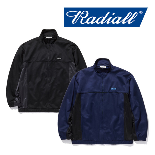 RADIALL(ラディアル) FLAV - TRACK JACKET 【2019 SPRING&SUMMER COLLECTION】 【RAD-19SS-CUT012】【トラックジャケット】