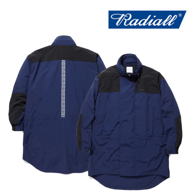 RADIALL(ラディアル) RED WOOD-MONSTER PARKA LIGHT 【2019 SPRING&SUMMER COLLECTION】 【RAD-19SS-JK004】【ナイロン パーカー