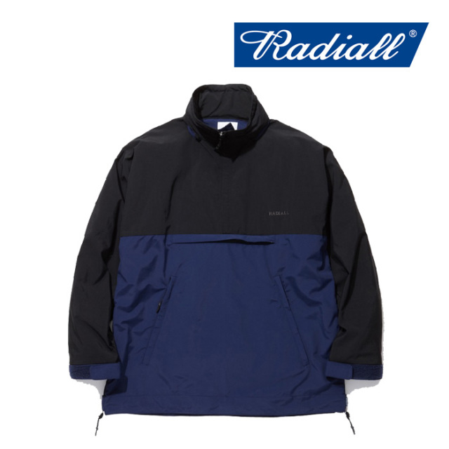 RADIALL(ラディアル) RED WOOD - PULLOVER PARKA 【2019 SPRING&SUMMER COLLECTION】 【RAD-19SS-JK005】【アノラックパーカー】