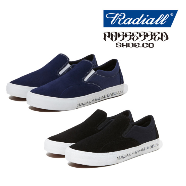 RADIALL(ラディアル) BASS FOOT-SLIP on SNEAKER 【2019 SPRING&SUMMER COLLECTION】 【RAD-19SS-JW002】【スリッポン】【スニー