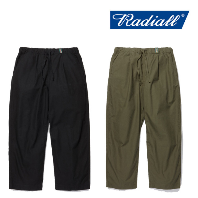 RADIALL(ラディアル) MONK-WIDE FIT EASY PANTS 【2019 SPRING&SUMMER COLLECTION】 【RAD-19SS-PT002】【パンツ】