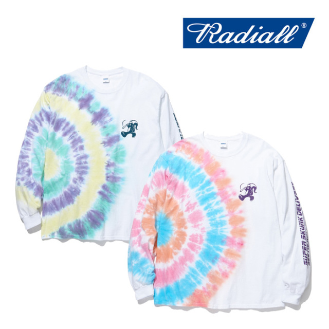 RADIALL(ラディアル) SKANK DUB-C.N. T-SHIRT L/S 【2019 SPRING&SUMMER COLLECTION】 【RAD-19SS-TEE013】【ロンT】