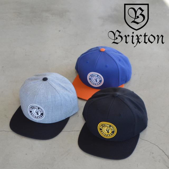 BRIXTON(ブリクストン) RIVAL MP SNAPBACK CAP 【スナップバック キャップ 帽子】【2021 SPRING新作】