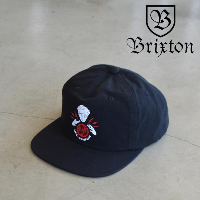 BRIXTON(ブリクストン) SEER X MP SNAPBACK 【スナップバック キャップ 帽子】【ブリクストン キャップ】【定番 人気 シンプル】