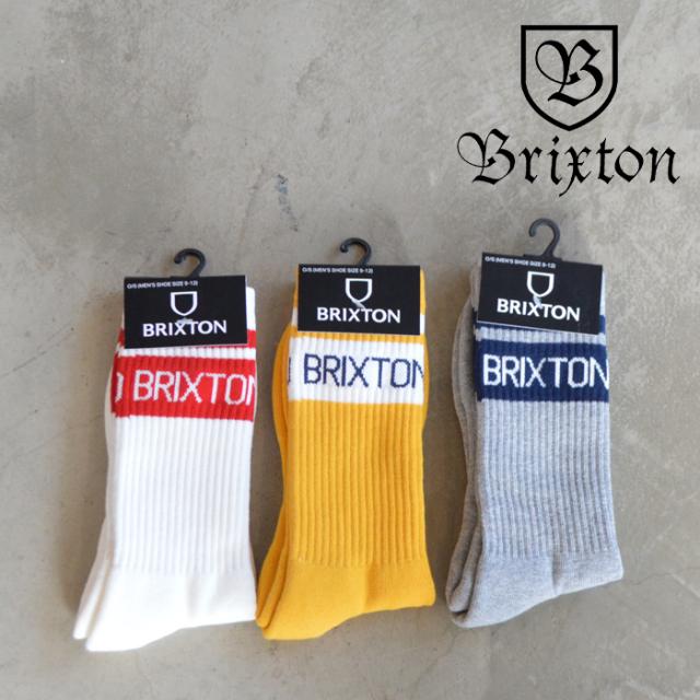 BRIXTON(ブリクストン) PHYS.ED.SOCKS 【ソックス 靴下 定番 人気 シンプル】