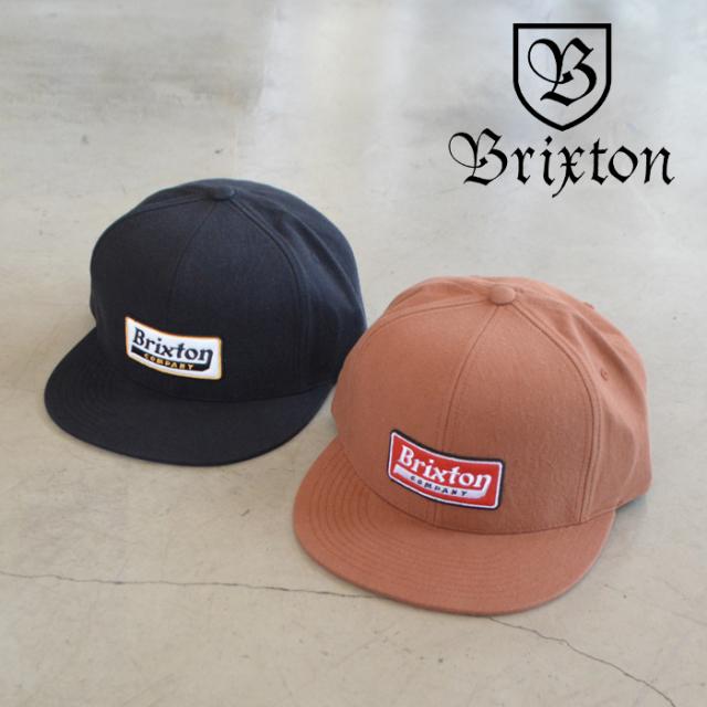BRIXTON(ブリクストン) STEADFAST HP SNAPBACK CAP 【スナップバック キャップ 帽子】【ブリクストン キャップ 定番 人気 シンプル