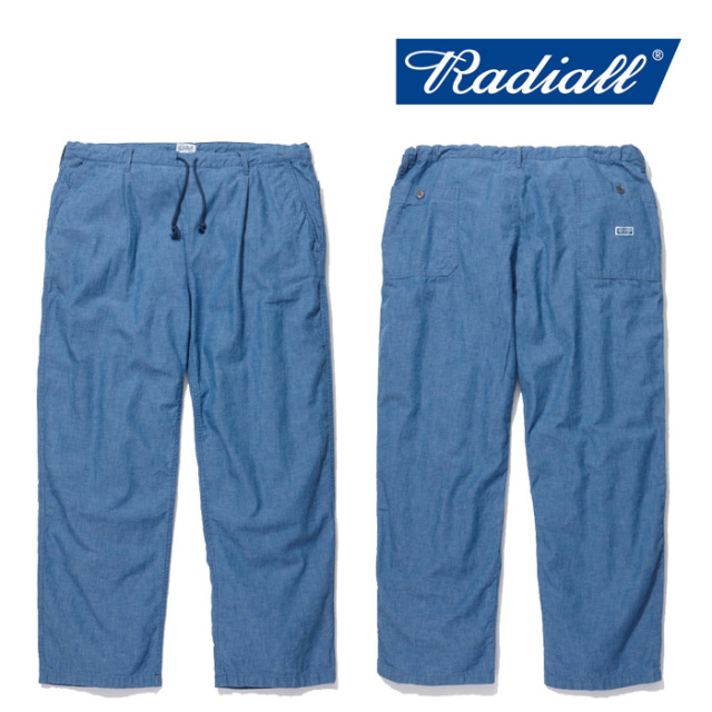 RADIALL(ラディアル)【TUFF NUFF】 T.N. EASY PANTS 【2019 SPRING&SUMMER COLLECTION】 【TN-19SS-PT015】【パンツ】