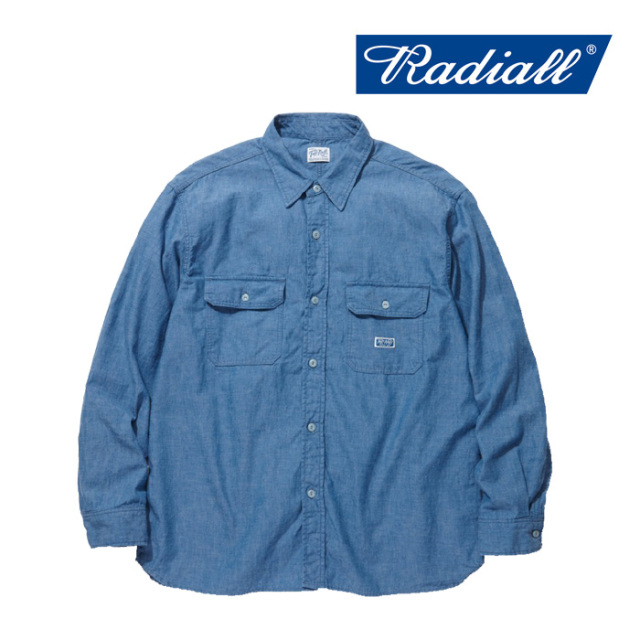 RADIALL(ラディアル) T.N.-WORK SHIRT L/S 【2019 SPRING&SUMMER COLLECTION】 【TN-19SS-SH031】【ワークシャツ】