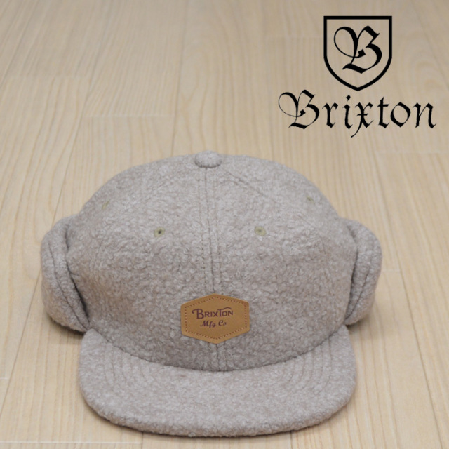 BRIXTON(ブリクストン) TRIG AT CAP 【2018AUTUMN/WINTER新作】【フリース キャップ】
