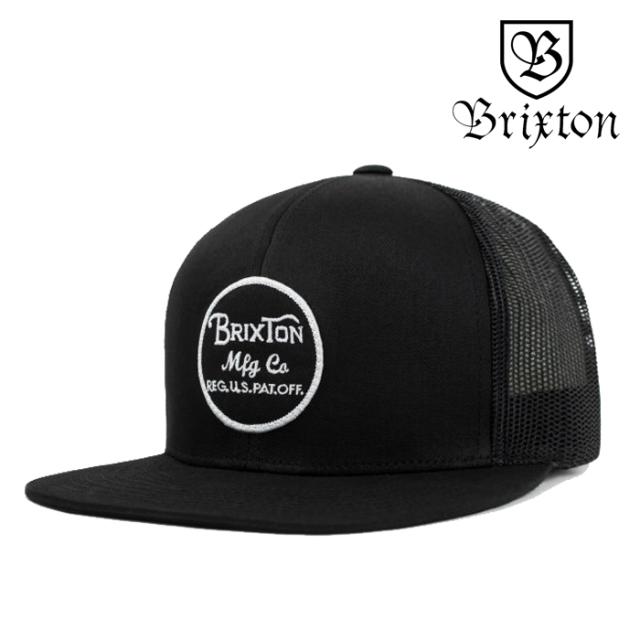 BRIXTON(ブリクストン) WHEELER MESH CAP 【メッシュキャップ 帽子】【2020SPRING新作】【定番 人気 シンプル】