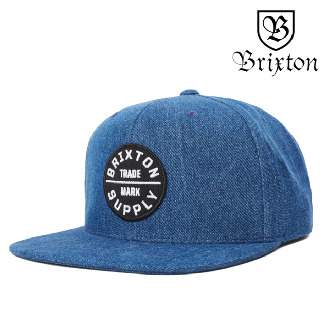 BRIXTON(ブリクストン) OATH III SNAPBACK CAP 【2019HOLIDAY新作】【キャップ 帽子】