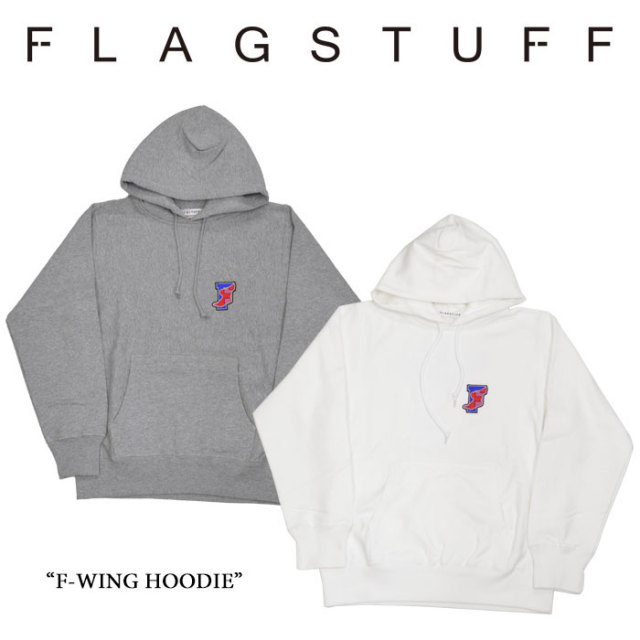 【SALE 40%OFF】 F-LAGSTUF-F(フラグスタフ) F-WING HOODIE 【2016 AUTUMN/WINTER COLLECTION】 【送料無料】 【F-LAGSTUF-F】