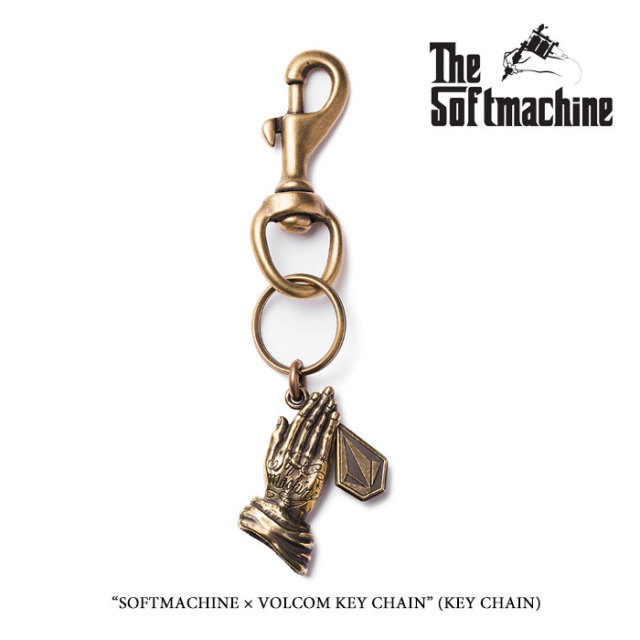 SOFTMACHINE(ソフトマシーン) SOFTMACHINE×VOLCOM KEY CHAIN 【2019SPRING&SUMMER 先行予約】 【キャンセル不可】【SOFTMACHINE