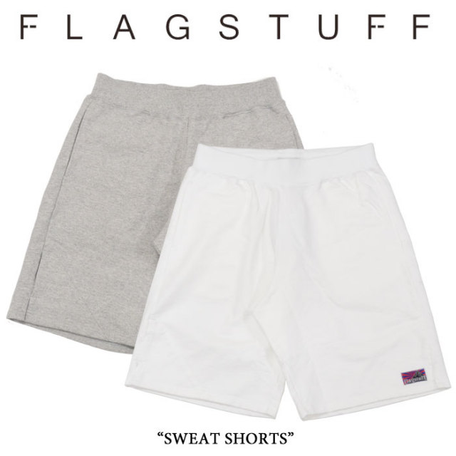 【SALE 40%OFF】F-LAGSTUF-F(フラグスタフ) SWEAT SHORTS 【2016 SPRING/SUMMER COLLECTION】 【F-LAGSTUF-F】 【フラグスタフ】