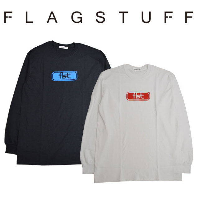 "F-LAGSTUF-F(フラグスタフ) ""fist L/S reality"" tee 【2018 SPRING&SUMMER COLLECTION】 【F-LAGSTUF-F】 【フラグスタフ】【フ"