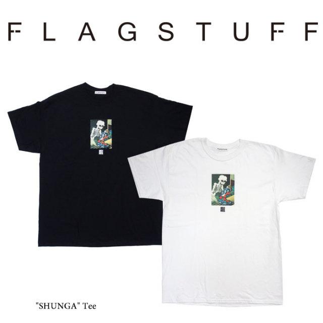 "F-LAGSTUF-F(フラグスタフ) ""SHUNGA"" Tee 【2018 SPRING&SUMMER COLLECTION】 【F-LAGSTUF-F】 【フラグスタフ】【フラッグスタ"