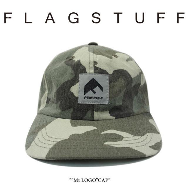 "【SALE】 F LAGSTUF F(フラグスタフ) ""Mt LOGO""CAP 【2018 SPRING&SUMMER COLLECTION】 【フラグスタフ】【フラッグスタッフ】"