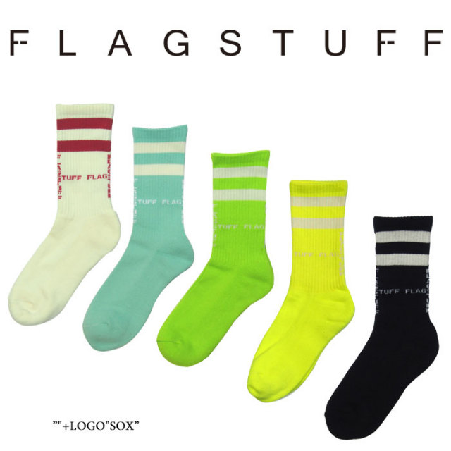 "F LAGSTUF F(フラグスタフ) ""+LOGO""SOX 【2018 SPRING&SUMMER COLLECTION】 【フラグスタフ】【フラッグスタッフ】 【2018SS-FS-"
