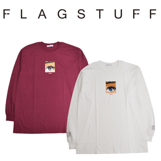"F-LAGSTUF-F(フラグスタフ) ""Dream and reality"" L/S Tee2 【2018 SPRING&SUMMER COLLECTION】 【F-LAGSTUF-F】 【フラグスタフ"