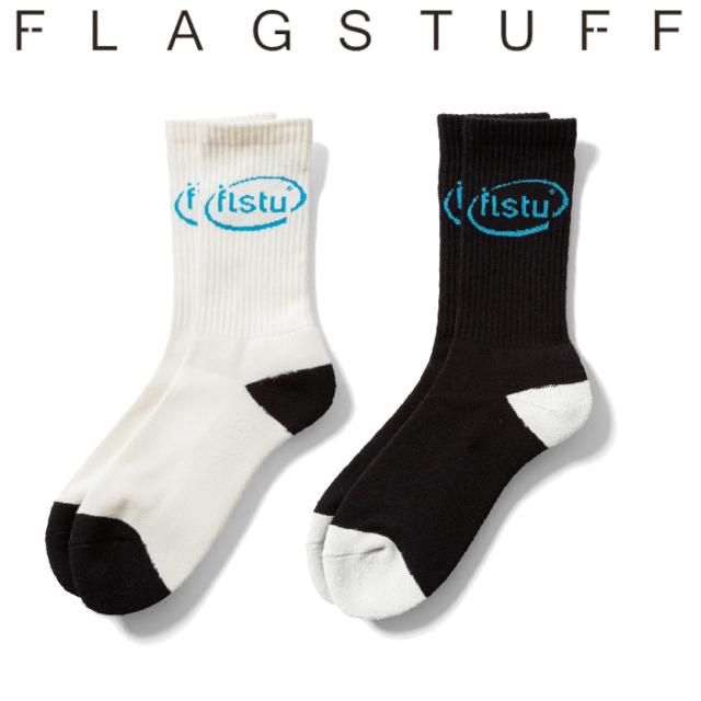 "F-LAGSTUF-F(フラグスタフ) ""flstu"" SOX 【ソックス 靴下】【20AW-FS-104】 【F-LAGSTUF-F】【FLAGSTUFF】【フラグスタフ】【フラ"