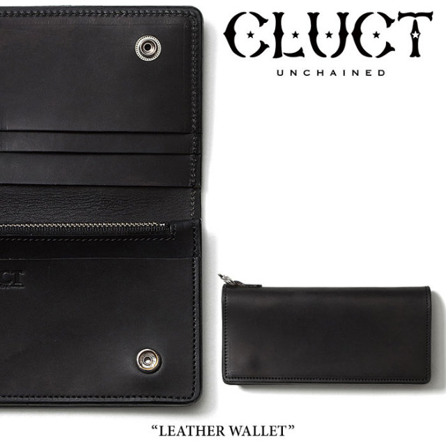 CLUCT(クラクト) LEATHER WALLET 【先行予約】 【送料無料】【キャンセル不可】 【#01348】