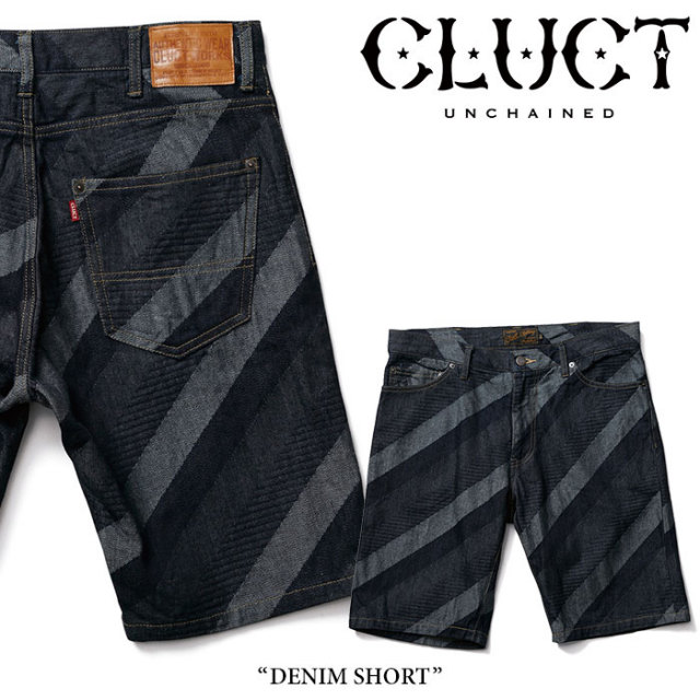 CLUCT(クラクト) DENIM SHORT 【2018SUMMER先行予約】 【送料無料】【キャンセル不可】 【#02726】