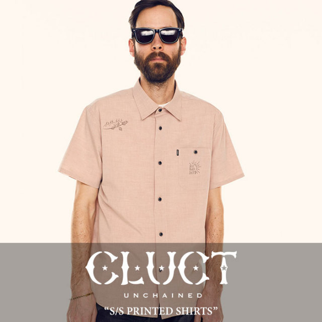 【SALE】 CLUCT(クラクト) S/S PRINTED SHIRTS 【2018SUMMER新作】【#02733】